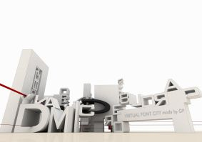 FONT CITY frontal by gentip