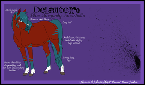 Delantero Reference by LugiaAngel
