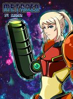 Samus Aran Art by iruden