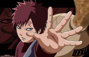 Gaara of the Sand by Bionic2307