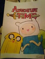 Adventure Time :) by MarcelaUrena
