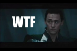 Loki WTF face by Snapjinx