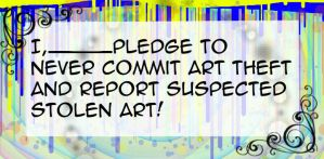 Anti-Art Theft Pledge by furu101