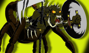 The Scorpion King By Ange10 color by Alpanu