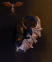 Bat out of hell. Ear cuff. by alina-loreley
