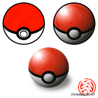 Pokeballs - Vector Practice by Phaeton99