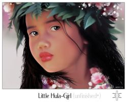The little HULA-Girl by mutato-nomine