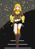 RWBY - Yang (Yellow) by SirWhintlebottoms