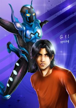 Blue Beetle by Autumn-Sacura