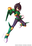 Request : Jet Woman (RZ style) by Tomycase