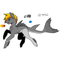 Shark Pony Adopt  (Auction) [Closed] by Crimson-Breeze