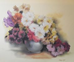 Still life flowers by AramN