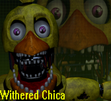 Fondo De Pantalla Withered Chica by GoldenFox90