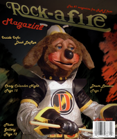 Rock A-Fire Magazine Issue One by Vega-Three