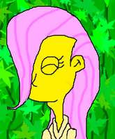 Fluttershy: Simpsons Style by Rise-Of-Majora