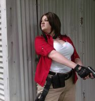RE6 Helena Harper Cosplay by TheBeastInBeauty