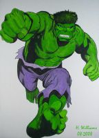 The Hulk by 12jack12