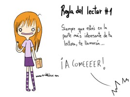 Reglas del lector #1 by Thegirlins