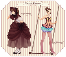OC: Therese Chanson by maesketch
