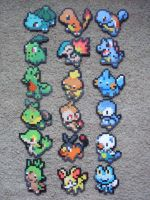 Pokemon: Perler Bead Starter Sets Generations 1-6