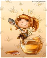 Honey fairy by LiaSelina