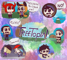 The Creatures - Treetopia by Styfreegurl