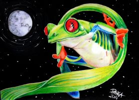 frog by PinkaArt