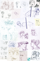 doodles compilation by KagomeHikari