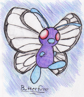 12 - Butterfree by JacobMace