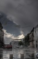 Berlin After the Thunderstorm by jcantelo