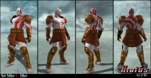 Soul Calibur V - Editor - Kratos by soulfenrir