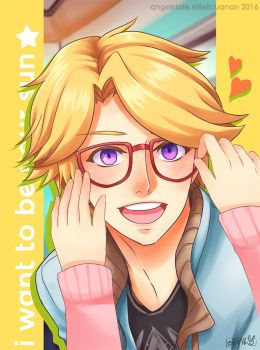Mystic Messenger : Yoosung by AngelsTale