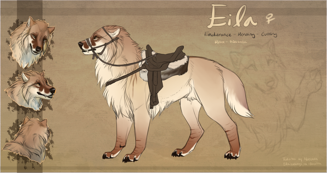 Eila Tack and Character Reference by Hlaorith