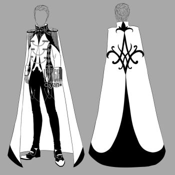 [closed] Auction BW Outfit men 15 by YuiChi-tyan