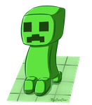 Request - Creeper by MyuOneeChan