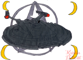 Starfleet Enterprise by LocalAlly