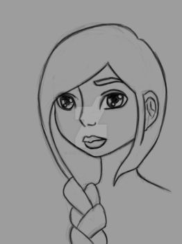 Lineart Practice by indigocrowgirl