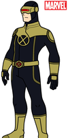 Marvel - Cyclops 2012 by HewyToonmore
