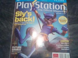 sly cooper thieves in time cover of magazine by FCC93