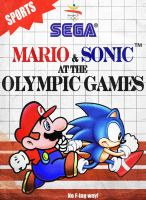 Mario and Sonic  Master System by Billysan291