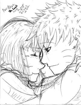 The Last Naruto the movie-NaruHina-Red Scarf by NelNel-Chan