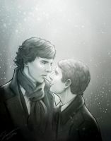 Sherlock x Watson - Here and Now by VoydKessler