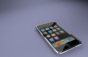 iPod Touch 2g New Render by DaBanch