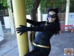 Classic catwoman cosplay by Carollinae
