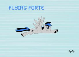 Flying Forte by RageRex