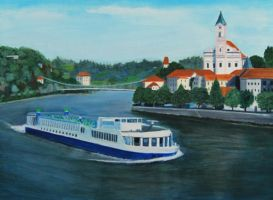 Danube to Vienna by Artisan30