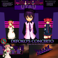 MMD Defoko's Concerto Stage Set by Trackdancer