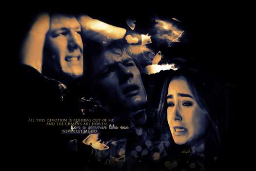 Jace + Clary - Never Let Me Go by ParalyzingLove