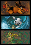 Starter Pokemon by sharkie19
