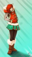 Uggs Girl by br3nna